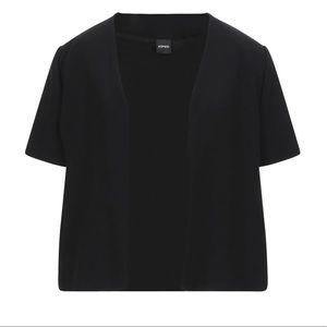 NEW Aspesi Sartorial Jacket Short Sleeve Black